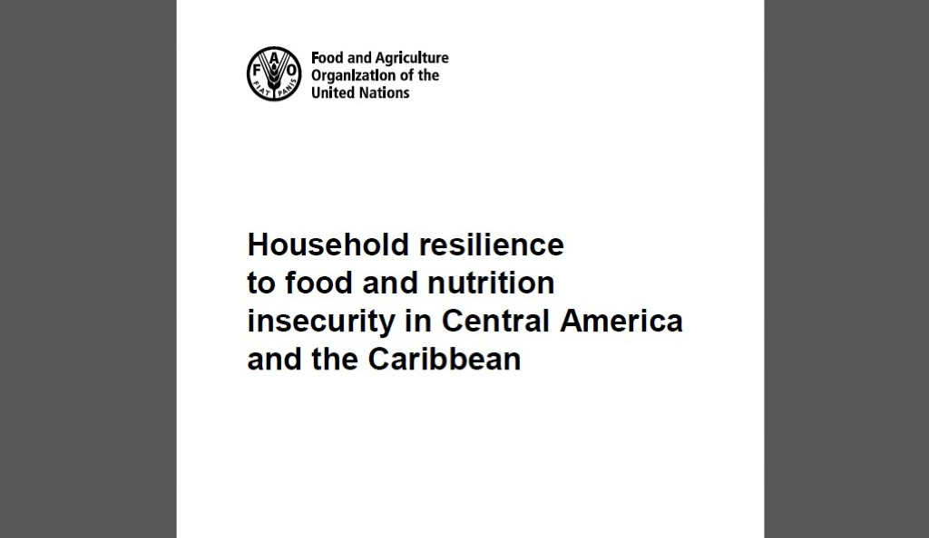 "A disposición artículo ""Household resilience to food and nutrition insecurity in Central America and the Caribbean"""